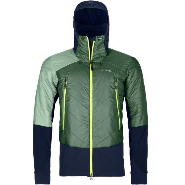 Green Ortovox Jacket Men Piz Palü Forest K1TlFJc