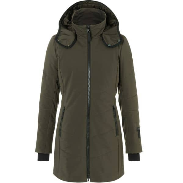 Bogner Fire + Ice Women Coat Irma dark olive